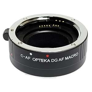 Opteka 25mm Auto Focus DG EX Macro Extension Tube for Canon EOS 70D, 60D, 60Da, 50D, 7D, 6D, 5D, 5Ds, 1Ds, T6s, T6i, T5i, T5, T4i, T3i, T3, T2i, T1i and SL1 Digital SLR Cameras