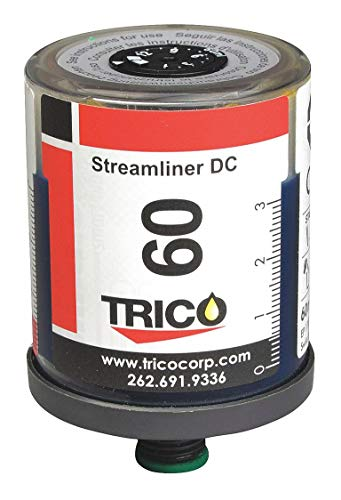Trico Streamliner DC Automatic Single Point Lubricator, 60cc Capacity, 1/4