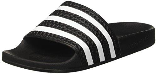 Adidas Originelen Adilette Sandalen Blk / Wh / B