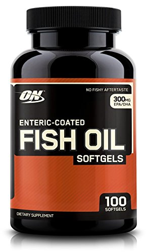 Optimum Nutrition Fish Softgels Count