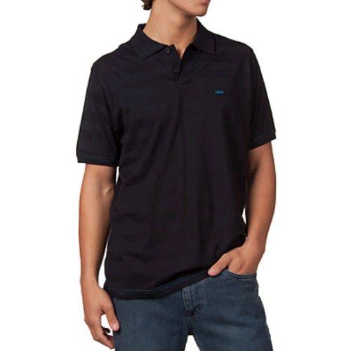 eea57d2eaf Vans Bradbury Polo Shirt Black Size Large: Amazon.co.uk: Clothing