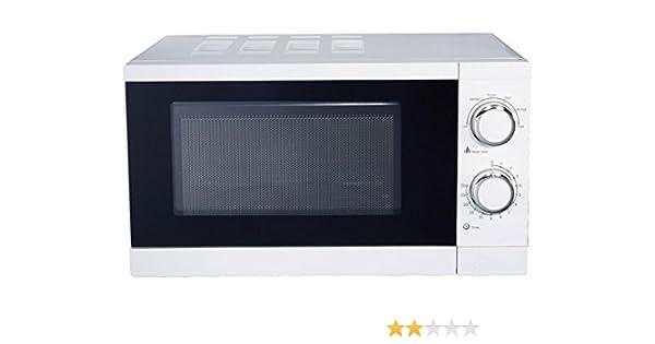 Master MW20G Horno microondas con grill, 20 l, 700 W, 20 litros, Color blanco