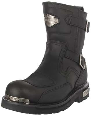 Harley-Davidson Men's Manifold Motorcycle Boot,Black,8.5 M US