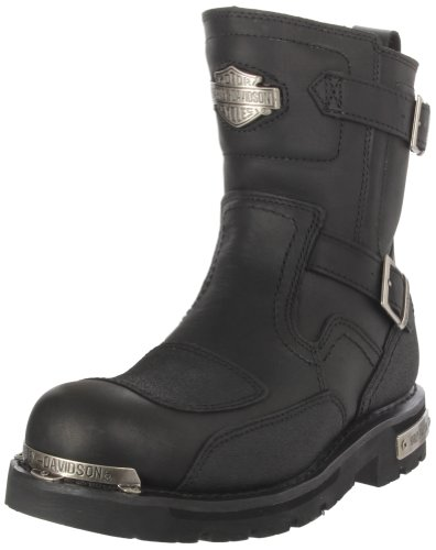 Harley-Davidson Men's Manifold Motorcycle Boot,Black,8.5 M US