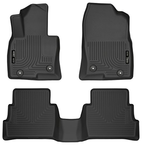 Husky Liners 95641 Black Front & 2nd Seat Floor Liners Fits 17-19 Mazda CX-5