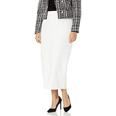 Kasper Women's Plus-Size Stretch Crepe Column Skirt at Women's Clothing store