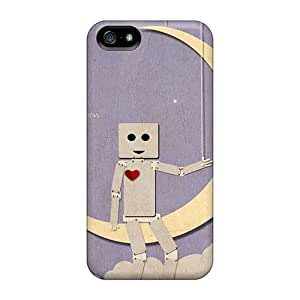 Durable Paper Moon Back Cases/covers For Ipod Touch 5