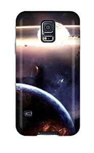 ThomasSFletcher Snap On Hard Case Cover Feuersbrunst Protector For Galaxy S5