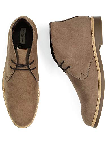 Will's Vegan Shoes Mens Signature Deserts-UK 6.5 / EU 40 / US 7.5 Taupe Vegan Suede