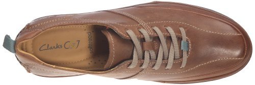 Marrone Day Leather 20342862 Uomo Recline tan Scarpe Clarks Basse cqPnY5EE