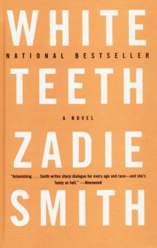 White Teeth Book Cover : White teeth a novel