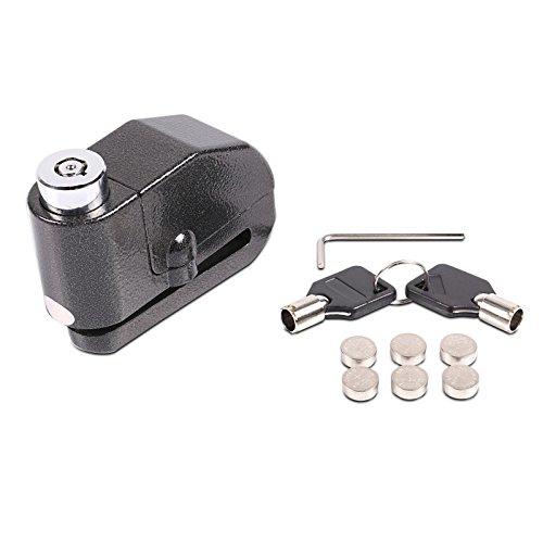 120 dB Alarm Bremsscheibenschloss f/ür Honda Forza 125