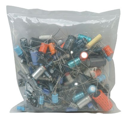 Jameco Valuepro GB102 Radial Axial and Snap Electrolytic Capacitors, 100 Piece