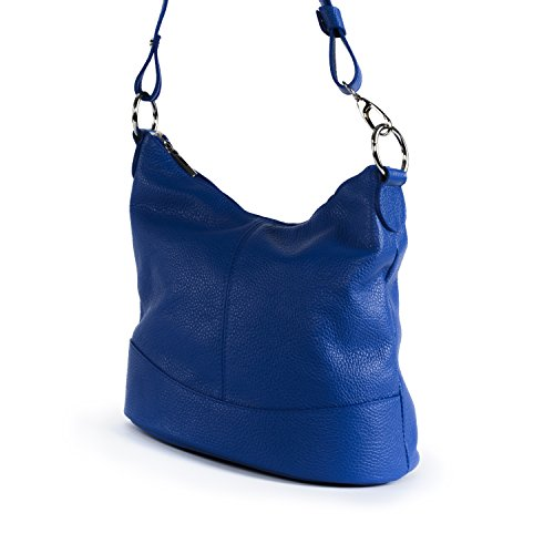 di a tracolla blu pelle BAG MY royal modello borsa OH Beaubourg qxnwfWPxZ