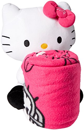 - The Northwest Company NFL Carolina Panthers Hello Kitty Fleece Throw with Hugger, 40 x 50-Inch, Pink