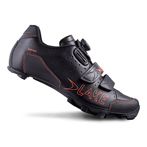 Lac Vélo 2016 Hommes Chaussures De Vélo De Montagne Mx228 - Noir / Orange (noir / Orange - 39)