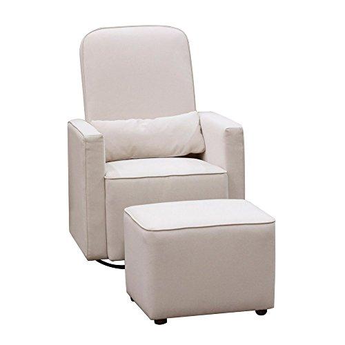 DaVinci-Olive-Upholstered-Swivel-Glider-with-Bonus-Ottoman