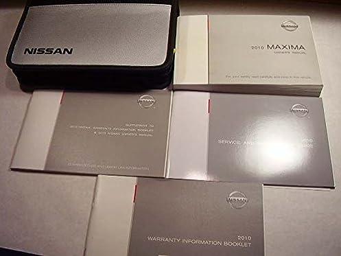 2010 nissan maxima owners manual nissan automotive amazon com books rh amazon com 2010 Nissan Altima Manual 2010 Nissan Maxima Fuse Box Diagram