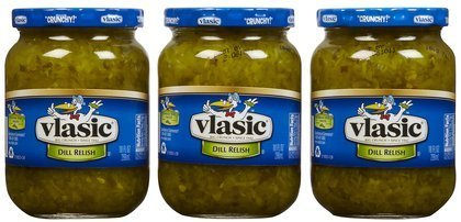 Vlasic Relish 10 Oz (Pack of 3) (Dill Relish) ()