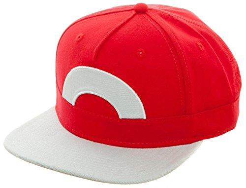 BIOWORLD Pokémon Ash Ketchum Satoshi Snapback (Ash And Pikachu Costume)
