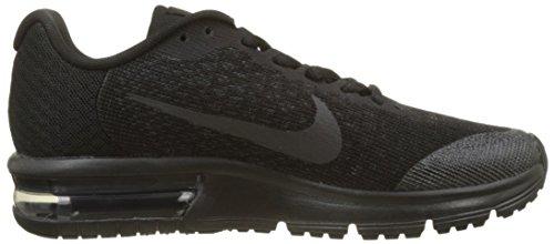 Nike Air Max Sequent 2 GS, Scarpe da Ginnastica Bambino Nero (Black/Black/Anthracite)