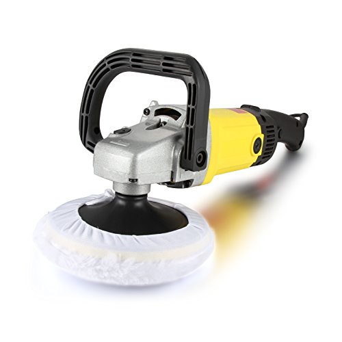 Dromedary Electric Variable Speed Car Polisher Buffer Waxer Sander Detail Boat New 7