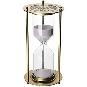 Amazon.com: 『60 Minutes 』Metal Hourglass Glass Timer