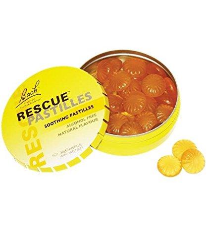Flores De Bach Originales Rescue Remedy Pastillas Naranja 50 Gr