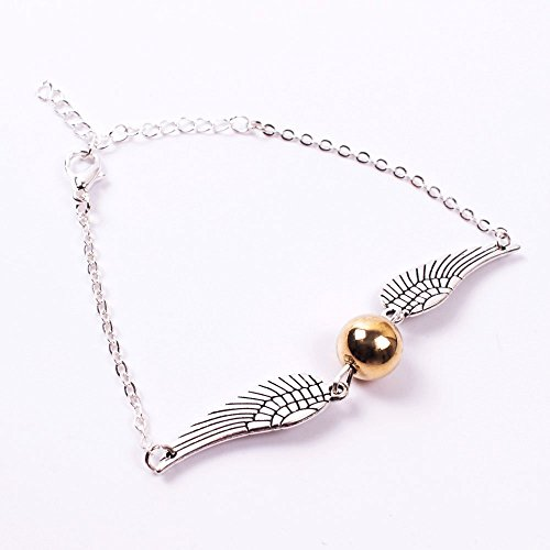 Fineder Golden Snitch Quicksilver Golden Pearl Bracelet Party Supplies Shipping by FBA