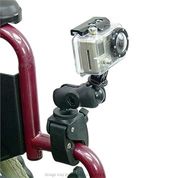 Compact barra de para silla de ruedas/Soporte de tubo para cámaras GoPro Hero: Amazon.es: Electrónica