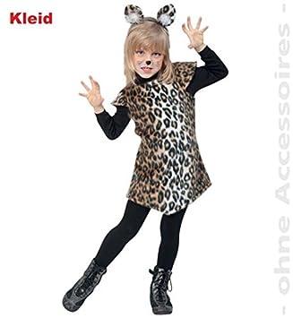 Kleid Katze Leopard 98 Madchen Fasching Kinder Kostum Plusch Amazon