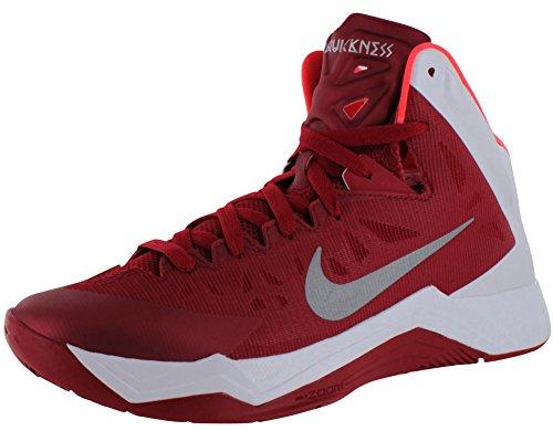 Nike Zoom Hyperquickness Hombre Rojo Deportivas Zapatos uevo EU 45