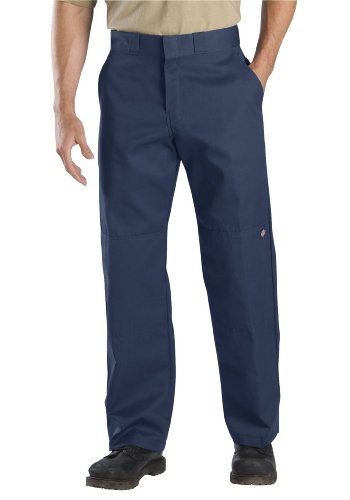 Dickies Men's Relaxed Straight Fit Double Knee Work Pant, Dark Navy, 38x30 Dickies Double Knee Cell Phone