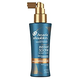 Head & Shoulders Royal Oils Instant Soothe Scalp Elixir Treatment with Menthol & Peppermint Oil, 4.2 Fluid Ounce