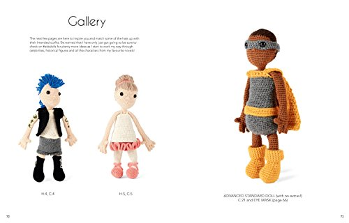 Edward's Crochet Doll Emporium: Flip the Mix-and-Match Patterns to Make and Dress Your Favourite People by Pavilion (Image #6)