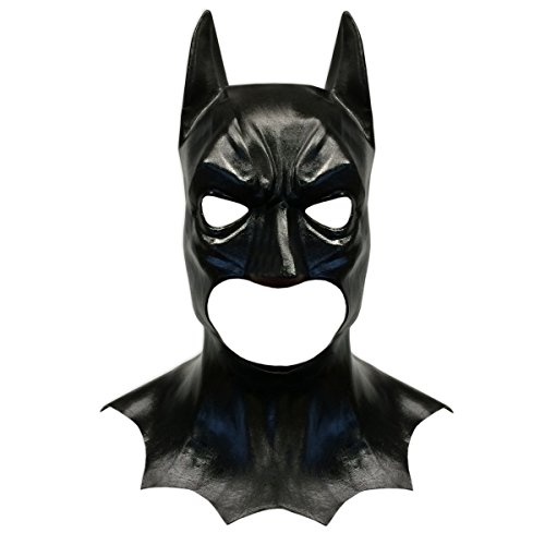 Batman Style Latex Costume Face Mask - Off the Wall Toys