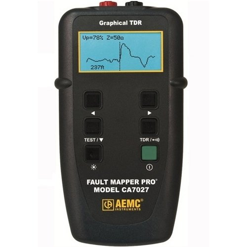 AEMC CA7027 Fault Mapper Pro Telephone Cable Tester with Graphical TDR