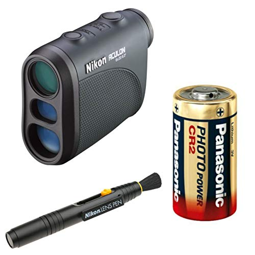 Nikon 6X20 8397 Aculon AL11 6×20 Laser Rangefinder Lens Pen and Extra Battery Bundle