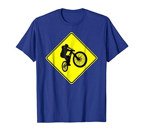 Mens 29ers 29 Inch Mountain Bike Tire Xing Sign MTB t-shirt Medium Royal ()