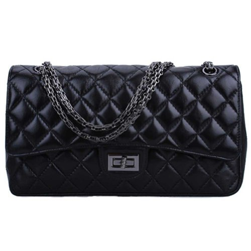 fineplus-classic-flap-bags-reissue-255-genuine-sheep-leather-handbags-diamond-texture-shoulder-chain