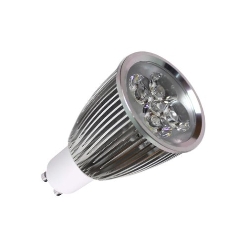 Ledbox LD1031054 - Bombilla LED, GU10, 6 W, regulable, color blanco frío: Amazon.es: Iluminación
