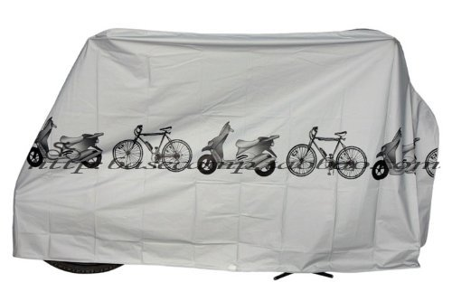 KLOUD City Grey Polyester Waterproof Bike Bicycle Cover by KLOUD City (Image #4)