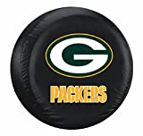 green bay packer tire cover - Green Bay Packers Black Tire Cover - Size Large