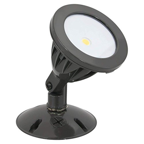 American Lighting ALV2-1H-DB LED Panorama Sunset Series Single Head COB Flood Light, 8.3-Watts, Dark - 277v Single
