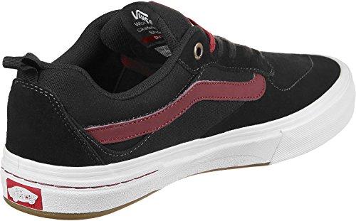 Vans Homme Kyle Walker Pro Chaussure De Skate Noir / Tibétain Rouge