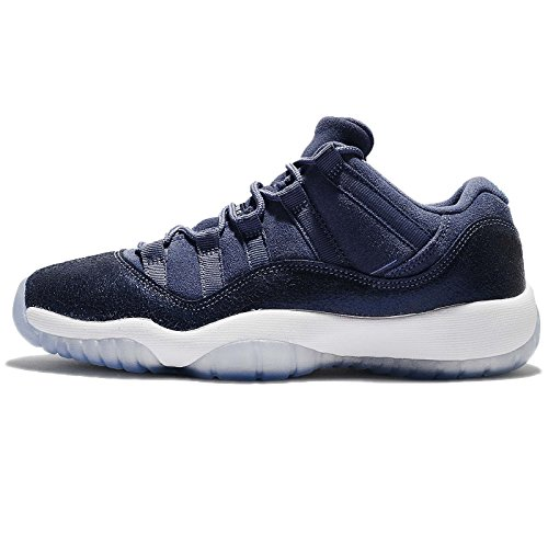 Jordan Kids Air 11 Retro Low GG, BLUE MOON/MIDNIGHT NAVY-WHITE, Youth Size 5 by Jordan