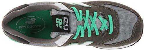 New Balance Classics, Zapatillas Hombre Gris (Cpf Grey/Green)