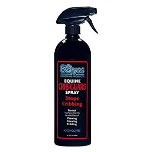 EQyss Crib Guard Equine Spray 32oz - Guaranteed to Stop Your Horse from Chewing and Cribbing 43