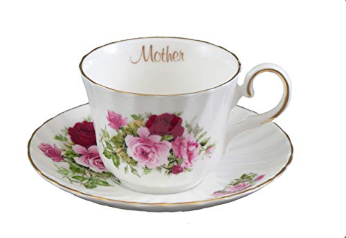 MOTHER Tea cup and saucer - Imported fine bone china