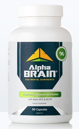Alpha BRAIN® (90ct) The Flagship Memory & Focus by Onnit Labs by ONNIT (Image #2)